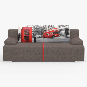 siti sofa 3D model