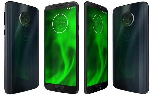 3D motorola moto g6 deep model