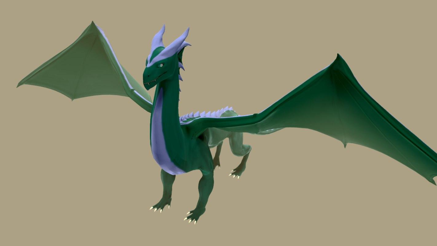 -dragon -creature 3D model