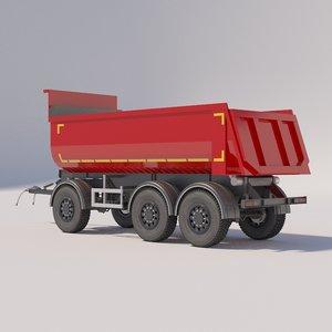 3D tipper trailers