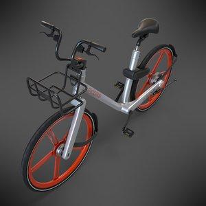 3D mobike bike model