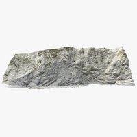3D cliff scan model