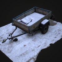 3D scan trailer