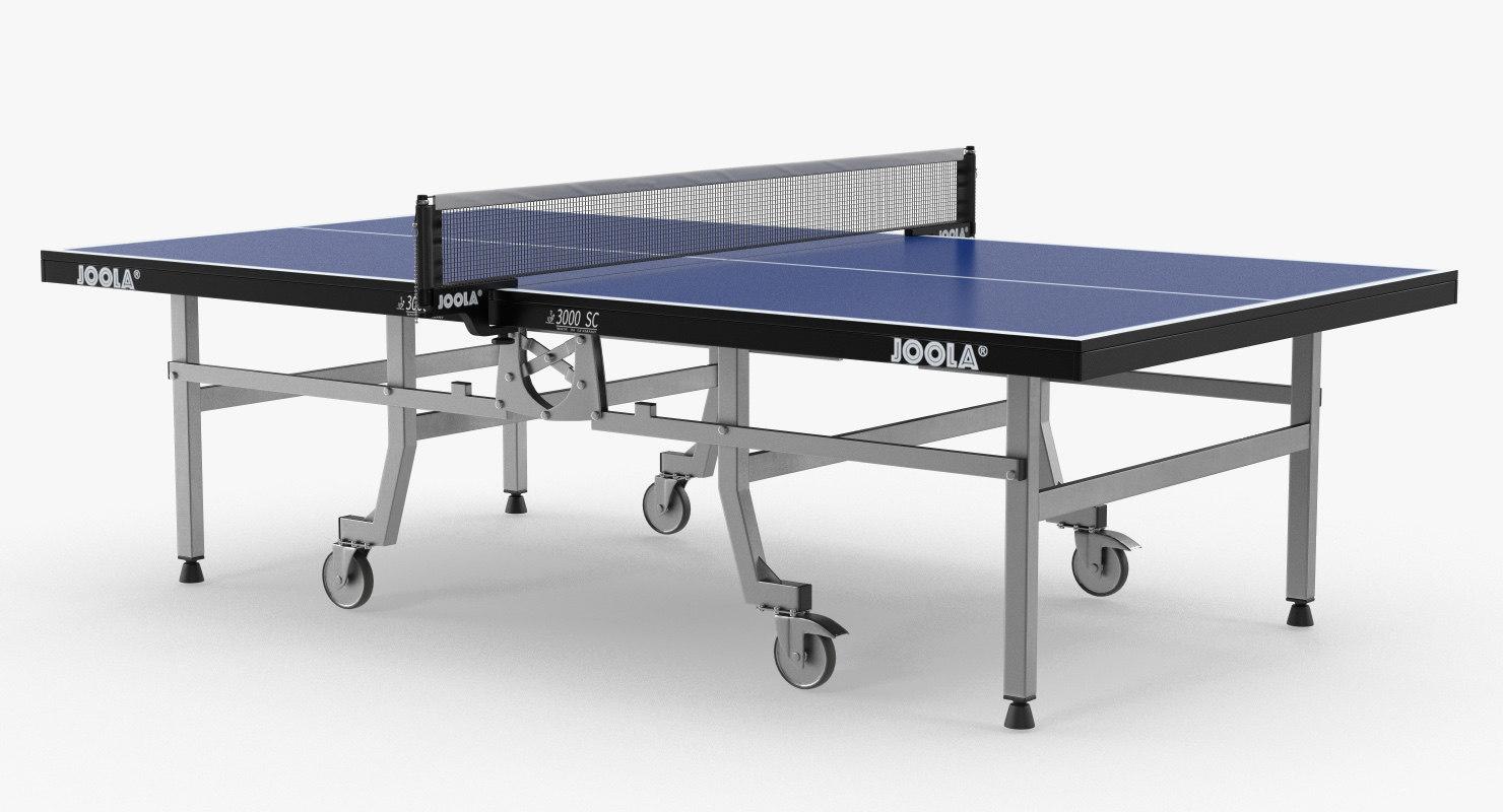 joola table tennis 3D