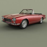 gordon-keeble gk1 convertible 3D