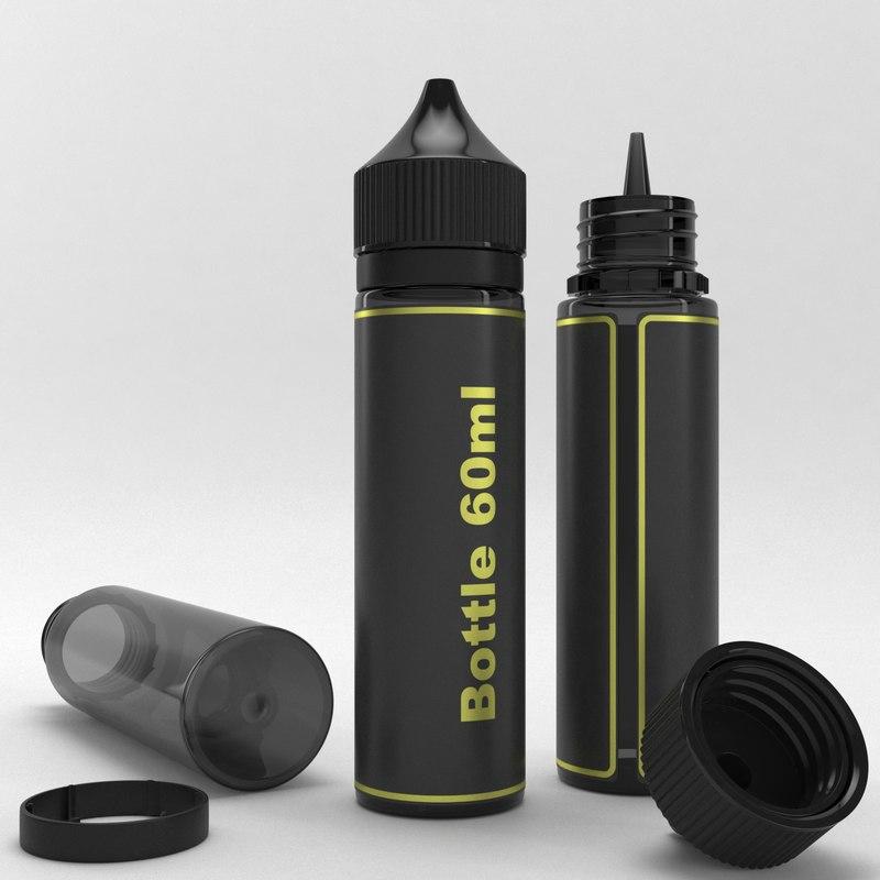 3D bottle 60ml type2 model
