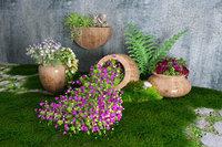 3D model spilled flower pot