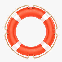 buoy lifebuoy life 3D model