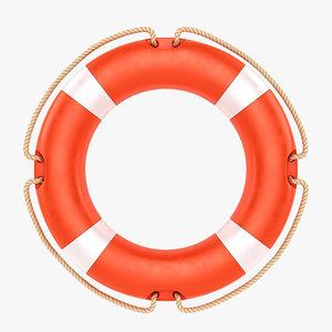 buoy lifebuoy life 3D model