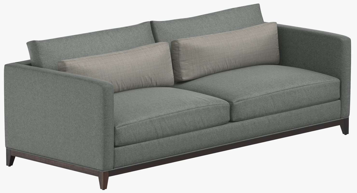 contemporary 2 seater sofa model
