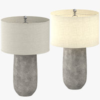 3D model contemporary table light