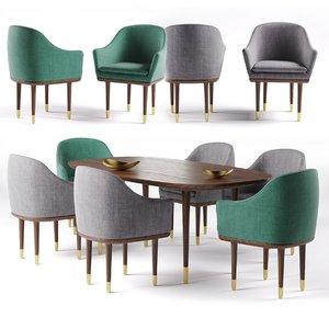 dining table stellar works model