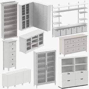 scandinavian furniture 3D model