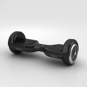 e-board scooter 3D