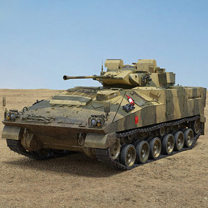 3D model fv 510 warrior