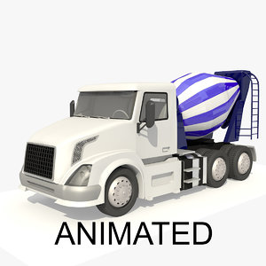 heavy vehicle lorry animations 3D