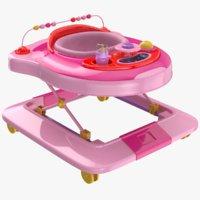3D baby walker