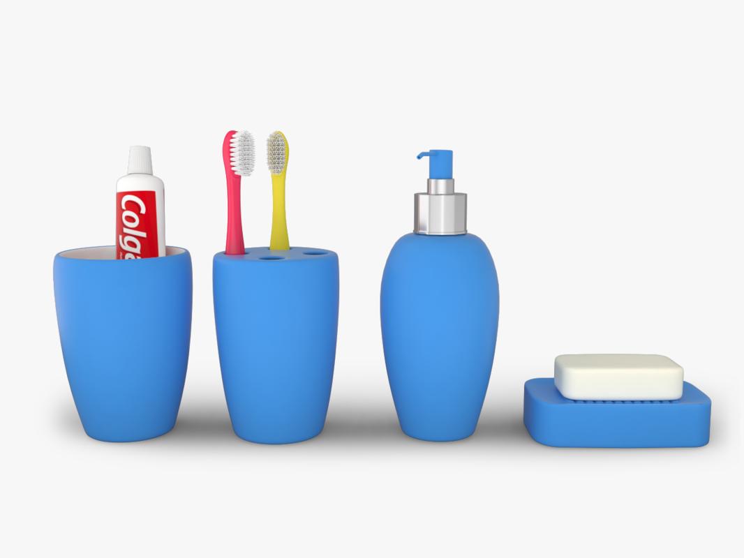 3D bath products model