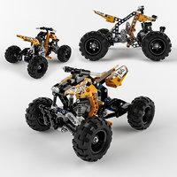 3D lego bike