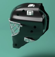 hockey goalie mask model