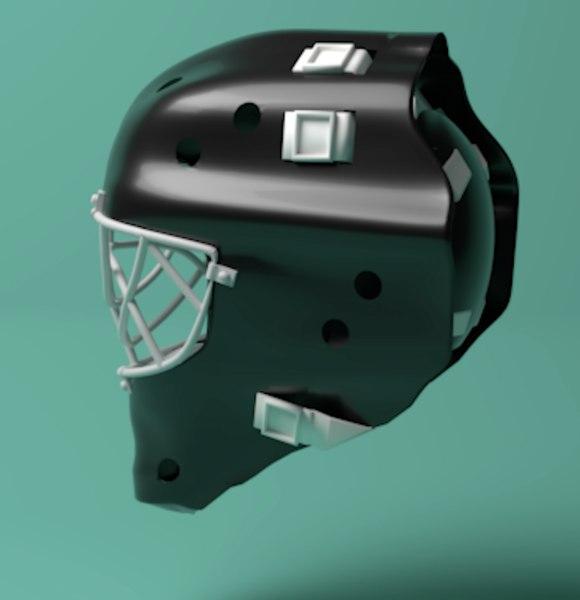 hockey goalie mask model