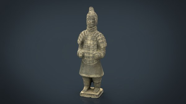 3D terracotta warriors soldier type