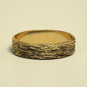 3D cnc stl gold