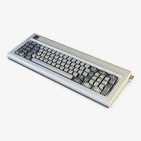 3D ibm 5150 keyboard