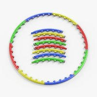 hula hoop massage 3D model