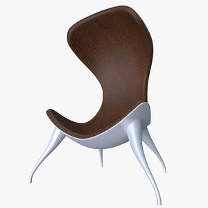 3D chair dounyasha model