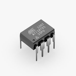 atmel attiny85 chip model