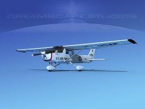 3D cessna t-51 model