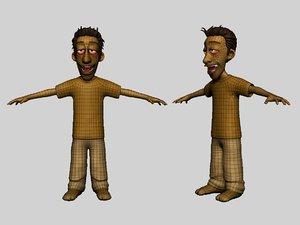 cartoon 3D model
