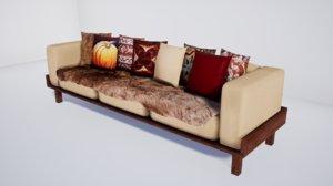 3D furniture october model