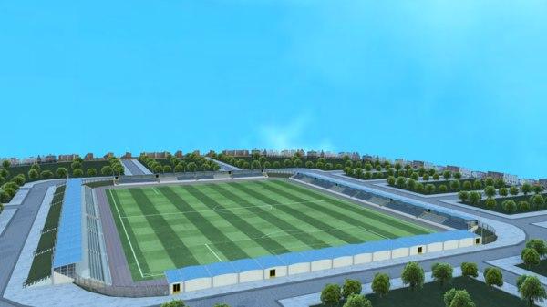 3D small random stadium