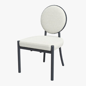 3D dining chair scribe model
