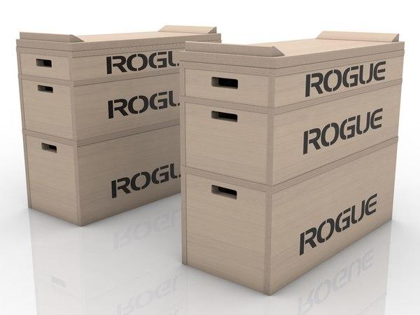 3D jerk blocks rogue model