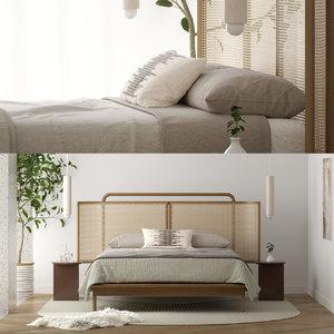 radnor mae bed 3D model