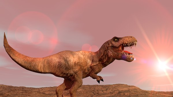 t-rex tyrannosaurus rex 3D model