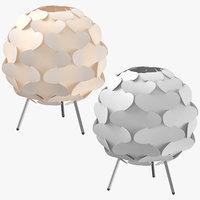 3D scandinavian table light