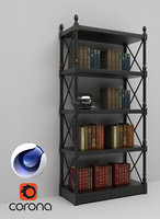 Bookshelf 02 C4D Corona
