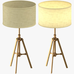 3D transitional table light