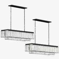 transitional ceiling light 3D model