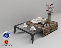 Coffee Table 02 C4D Corona
