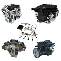 3D model cummins engine