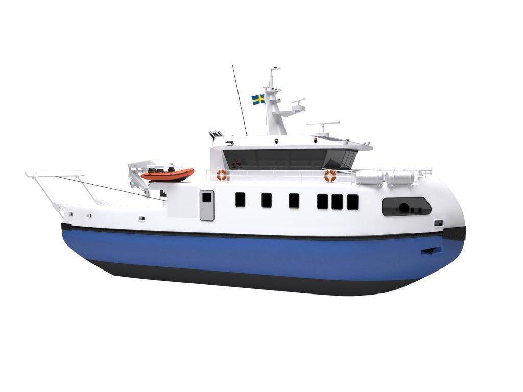 research vessel 3D