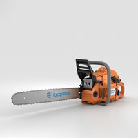 3D husqvarna chain saw model