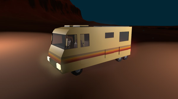 camper rv 3D model