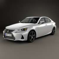 lexus xe30 350 3D