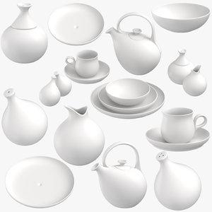modern tableware model